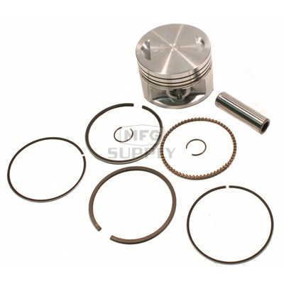 "50-222-04 - ATV .010"" (.25 mm) Piston Kit For 83-87 Honda ATC200X; 86-88 TRX200SX"