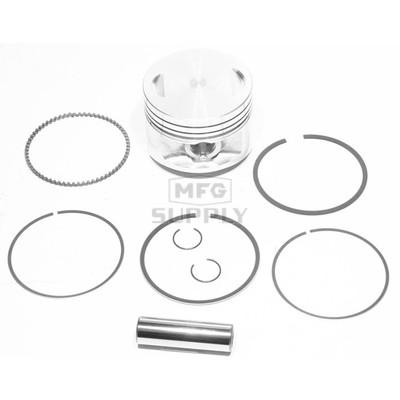 """50-222-05 - ATV .020"""" (.5 mm) Piston Kit For 83-87 Honda ATC200X; 86-88 TRX200SX"""