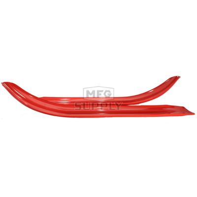 """501-601-82 - Yamaha Ski Skins 3/16"""" Red. (Pair)"""