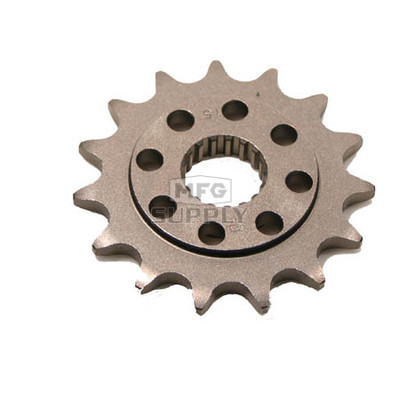 JTF284-15 - Honda ATV 15 tooth front sprocket. Fits 04-06 TRX450R.