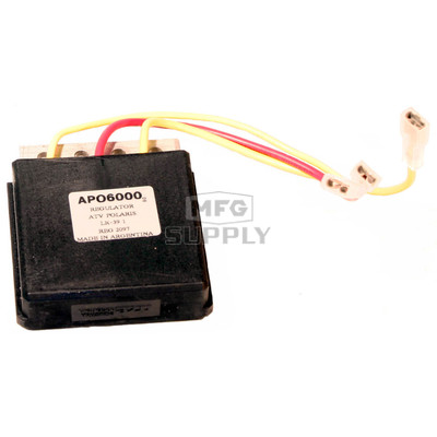 APO6000 - Voltage Regulator for many 98-99 Polaris 250/300/400cc ATVs