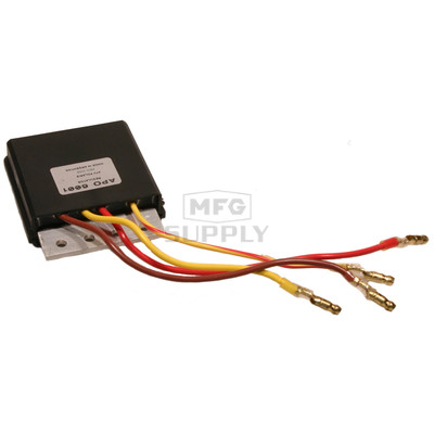 APO6001 - Voltage Regulator for many 97-02 Polaris 500cc ATVs