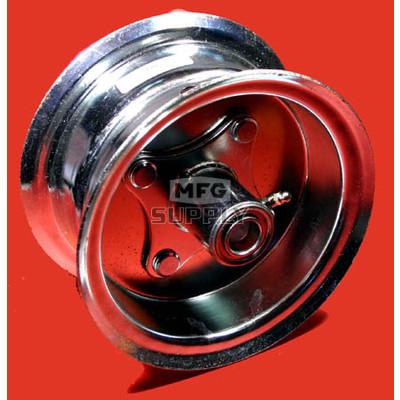"""AZ1035 - 6"""" Steel Wheel, 3-9/16"""" wide, 3/4"""" ID Bearing"""