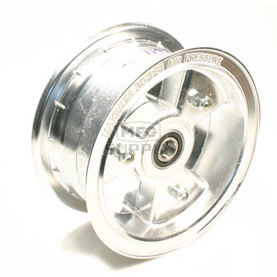 "AZ1193 - 6"" Aluminum Wheel, 3"" wide, 5/8"" ID Bearing"