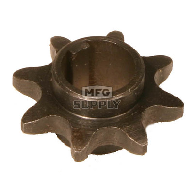 "AZ2182 - ""C"" Type Sprocket for #40/41 Chain, 8 Tooth, 5/8"" bore"