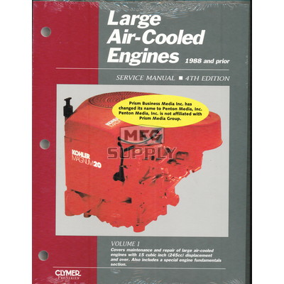 Large Air-Cooled Engine Service Manual (1988 & Prior) Volume 1