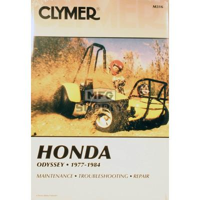 CM316 - 77-84 Honda FL250 Odyssey Repair & Maintenance manual.