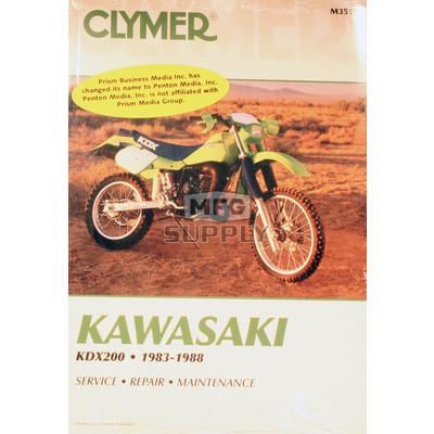 CM351 - 83-88 Kawasaki KDX200 Repair & Maintenance manual