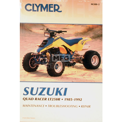 CM380 - 85-92 Suzuki LT250R Repair & Maintenance manual.
