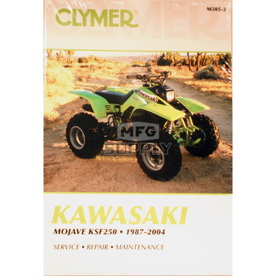CM385 - 87-04 Kawasaki KSF250 Mojave Repair & Maintenance manual.