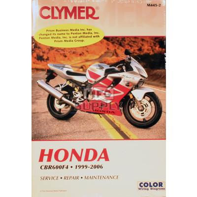 CM445 - 99-06 Honda CBR600F4 Repair & Maintenance manual