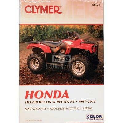CM446 - 97-07 Honda TRX250/ES Recon Repair & Maintenance manual