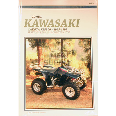 CM470 - 95-99 Kawasaki KEF300 Lakota Repair & Maintenance manual.