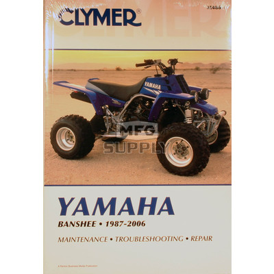 CM486 - 87-06 Yamaha YFZ350 Banshee Repair & Maintenance manual.