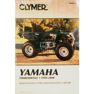 CM489 - 89-00 Yamaha YFM250/YFB250/YFB250FW Repair & Maintenance manual.