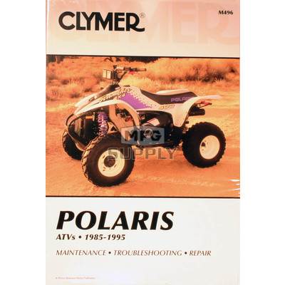 CM496 - 85-95 Polaris all 3,4 & 6 wheel models) Repair & Maintenance manual.