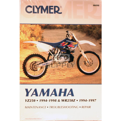 CM498 - 94-98 Yamaha YZ250 & 94-97 WR250Z Repair & Maintenance manual