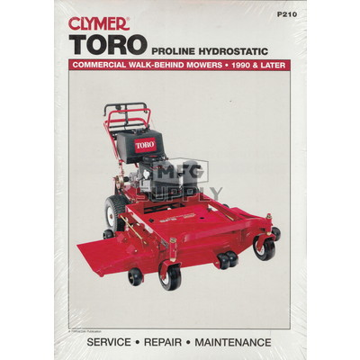 Toro Commercial Walk-Behind Mowers Service Manual (1990-later)