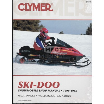 CS830 - 90-95 Ski-Doo Snowmobile Shop Manual