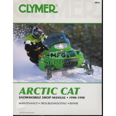 CS836 - 90-98 Arctic Cat Snowmobile Shop Manual