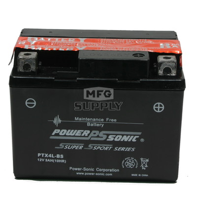 GT4L-BS - Sealed maintenance free batteries. Acid pack included