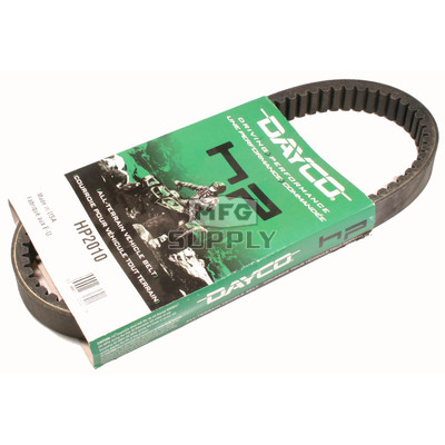 HP2010 - Dayco High Performance Belt. Replaces 36398-92 belt on 92-95 Columbia Gas Golf Carts