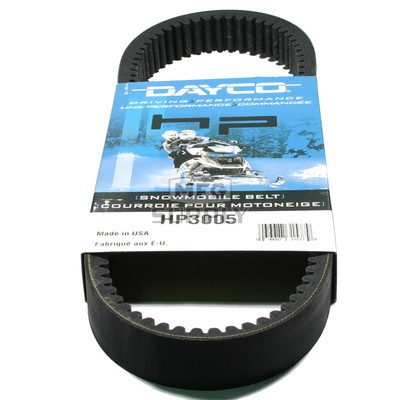 HP3005-W1 - Ski-Doo Dayco HP (High Performance) Belt. Fits 95-01 mid power Ski Doo Snowmobiles.
