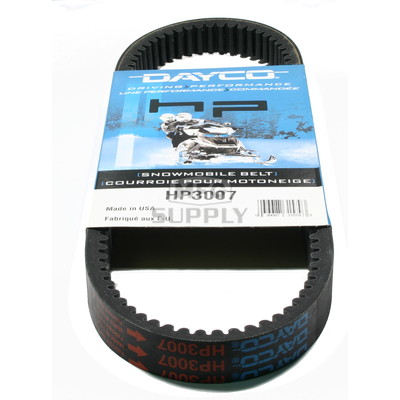 HP3007 - Arctic Cat Dayco HP (High Performance) Belt. Fits many lower power 70-72 Arctic Cat Snowmobiles.