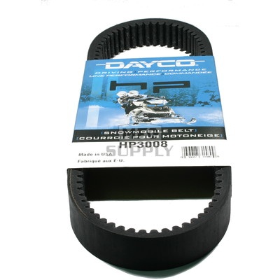HP3008-W1 - Scorpion Dayco HP (High Performance) Belt. Fits 81 Sidewinder Snowmobile.