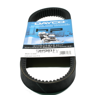 HP3011 - John Deere Dayco HP (High Performance) Belt. Fits 72-77 John Deere Snowmobiles.