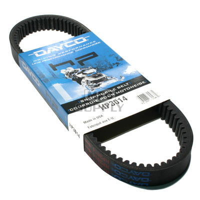 HP3014 - Yamaha Dayco HP (High Performance) Belt. Fits 70-75 Yamaha Snowmobiles.