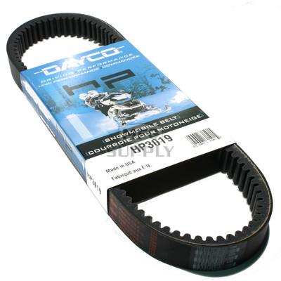 HP3019 - Ski-Doo Dayco HP (High Performance) Belt. Fits 76-00 low power Ski Doo Snowmobiles.