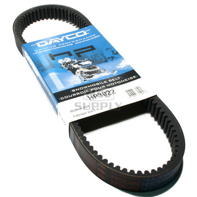 HP3022 - John Deere Dayco HP (High Performance) Belt. Fits 82-84 John Deere Snowmobiles.