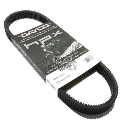 HPX2253 - John Deere Dayco HPX (High Performance Extreme) Belt. Fits CS & CX Gators with SN over 040000