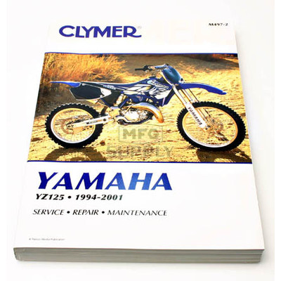 CM497 - 94-01 Yamaha YZ125 Repair & Maintenance manual