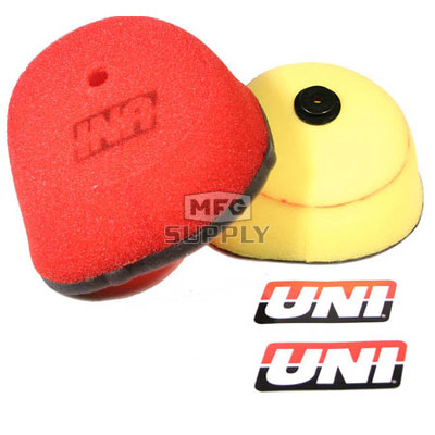 NU-4135ST - Uni-Filter Air Filter. For 02-05 Honda CR125, 02-05 CR250