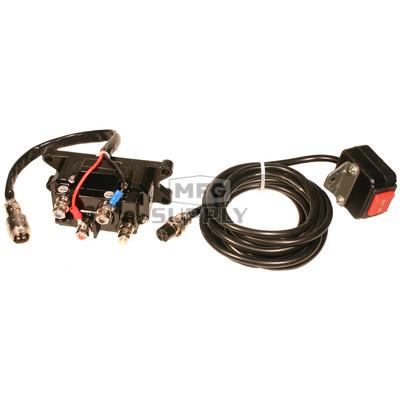 RUSOLENOID - Heavy Duty Winch Solenoid & Switch Kit