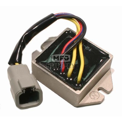 SM-01140 - Ski-Doo Snowmobile Voltage Regulator, replaces 515176189. For electric start models.