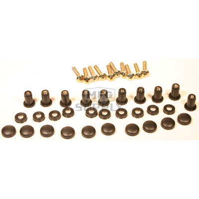 SM-06015 - Snowmobile Windshield Bolts, Inserts & Caps (10 pieces)