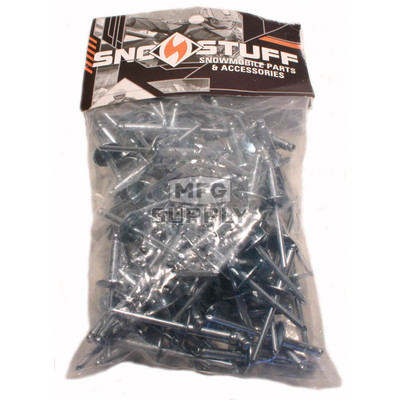 SS610LF - Steel Plated Rivets (bag of 100). Misc usage.