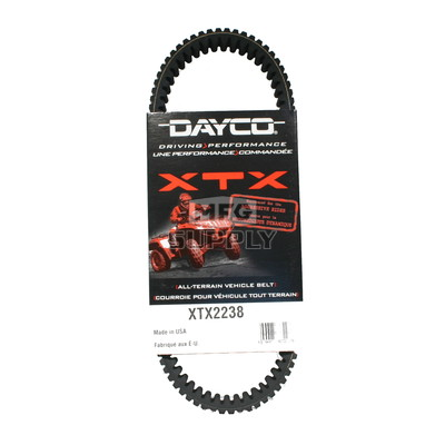 XTX2238 - Arctic Cat Dayco  XTX (Xtreme Torque) Belt. Fits 05-newer models.