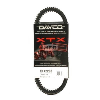 XTX2263 - Kawasaki Dayco XTX (Xtreme Torque) Belt. Fits 2014 Teryx & Teryx4 UTVs
