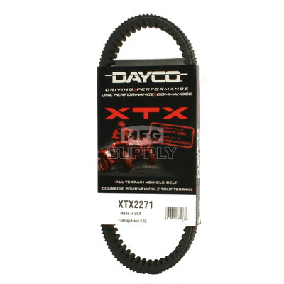 XTX2271 - Yamaha Dayco  XTX (Xtreme Torque) Belt. Fits many 09 and newer Grizzly models.