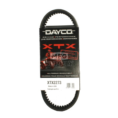 XTX2273 - Arctic Cat Dayco  XTX (Xtreme Torque) Belt. Fits 2007-current Arctic Cat 700 Diesel ATVs