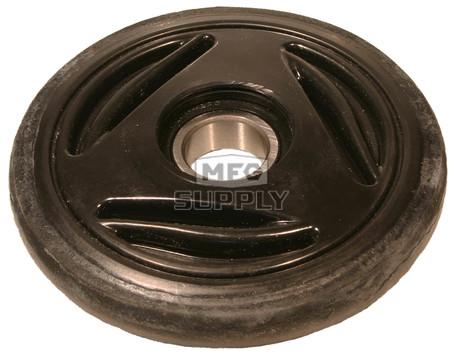 "04-0135-20 - Ski-Doo 5.350"" (135mm) Black Idler Wheel with 6205 series bearing (25mm ID)"