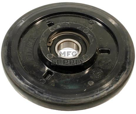 "04-0165-20 - Ski-Doo 6.500"" (165mm) Black Idler Wheel with 6205 series bearing (25mm ID)"
