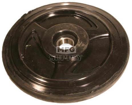 "04-0178-20 - Yamaha 7"" (178mm) Black Idler Wheel with 6004 series bearing (20mm ID)"