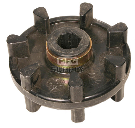 04-108-51 - Arctic Cat Snowmobile Track Drive Sprocket. 7 teeth, hex shaft