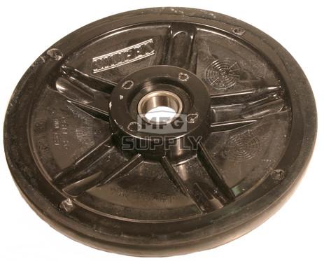 "04-1180-20 - Ski-Doo 7.125"" (180mm) Black Idler Wheel with 6004 series bearing (20mm ID)"
