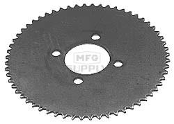 """4-469 - Steel Plate Sprocket C35 60T; 7-1/4"""" OD"""